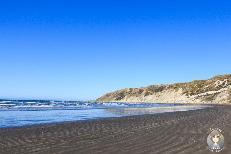 Spaziergang am Marfells Beach