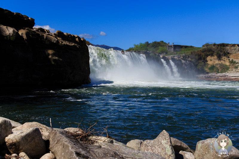 Die Maruia Falls in Neuseeland