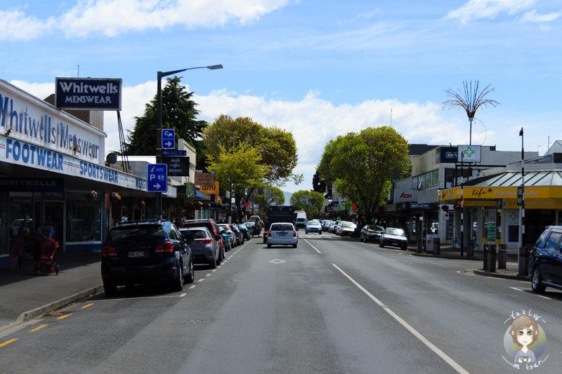 Stadtzentrum von Motueka