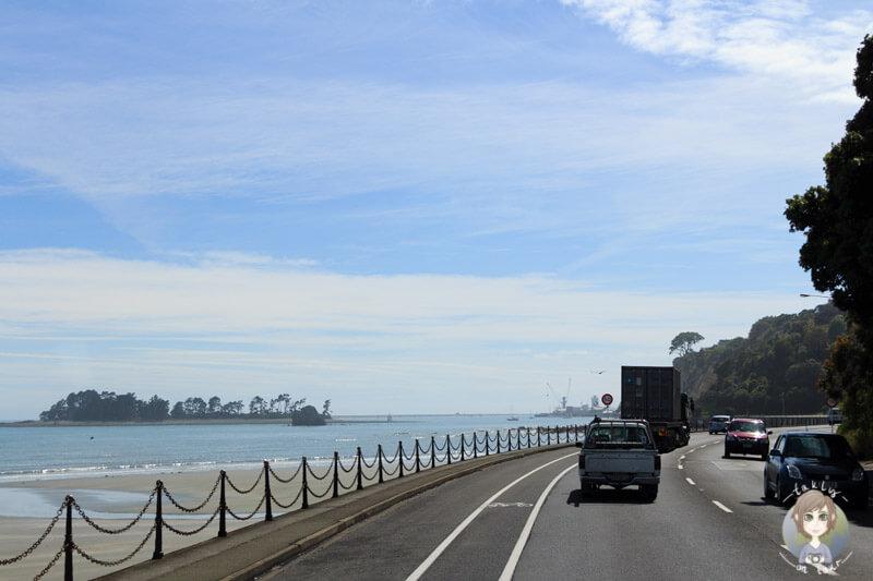 Fahrt nach Nelson, Neuseeland
