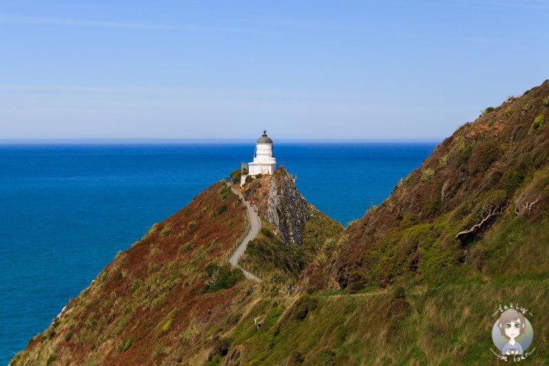 Leuchtturm am nugget Point von Neuseeland