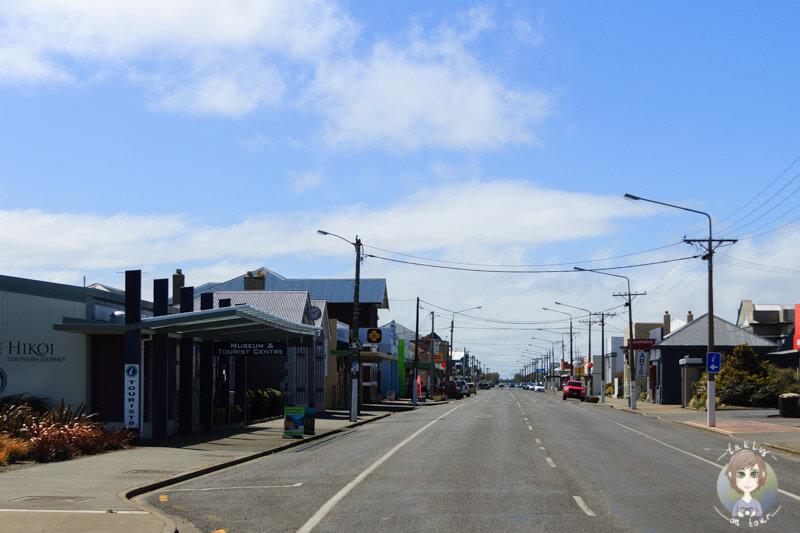 kleine Ortschaft in Southland