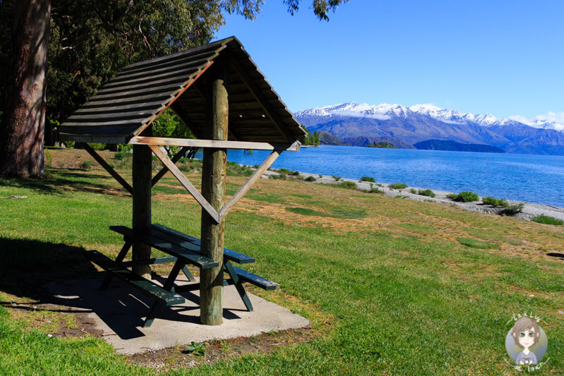 Picknick am Lake Wanaka
