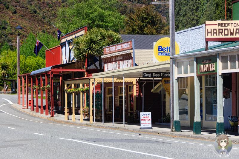 Reefton, West Coast, Neuseeland (2)