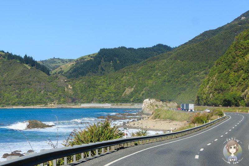 Durch Marlborough auf der Südinsel Neuseelands