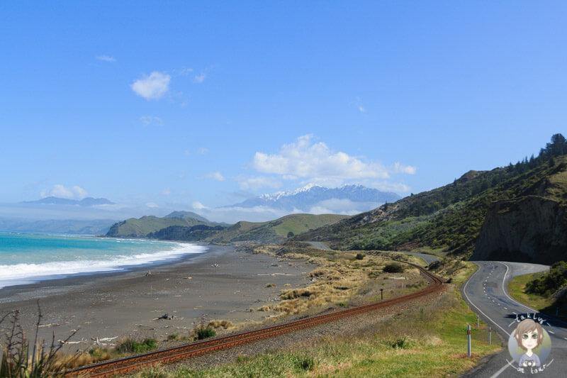 Neuseeland Südinsel, Küste in der Region Marlboroug