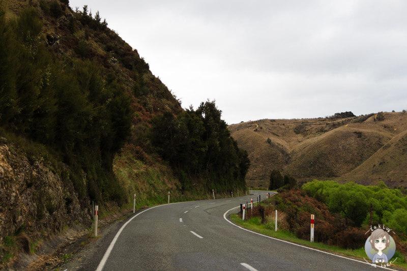 Richtung Clark Valley, Neuseeland