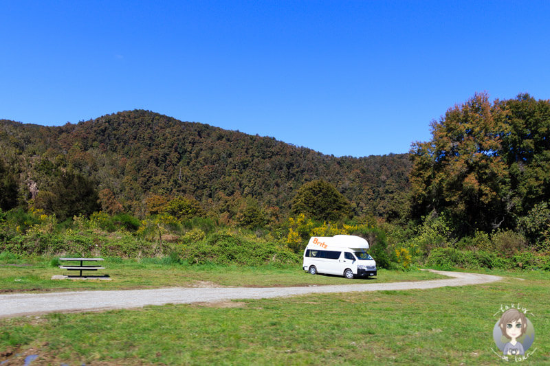 Freedom Camping entlang des SH6