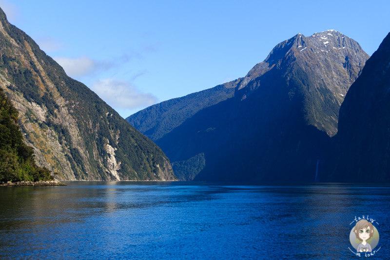 tolle Berglandschaft auf dem Milford Sound