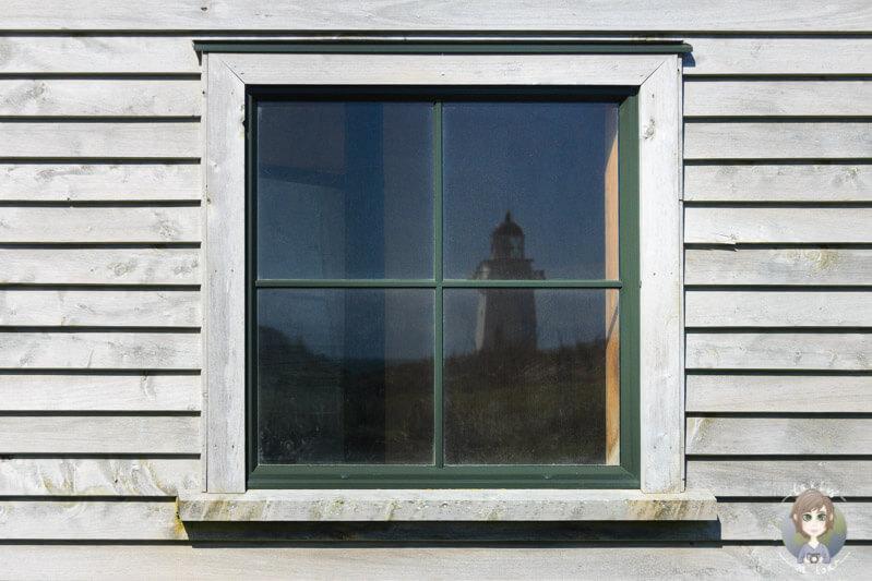 Spiegelung des Waipapa Leuchtturm, Neuseeland
