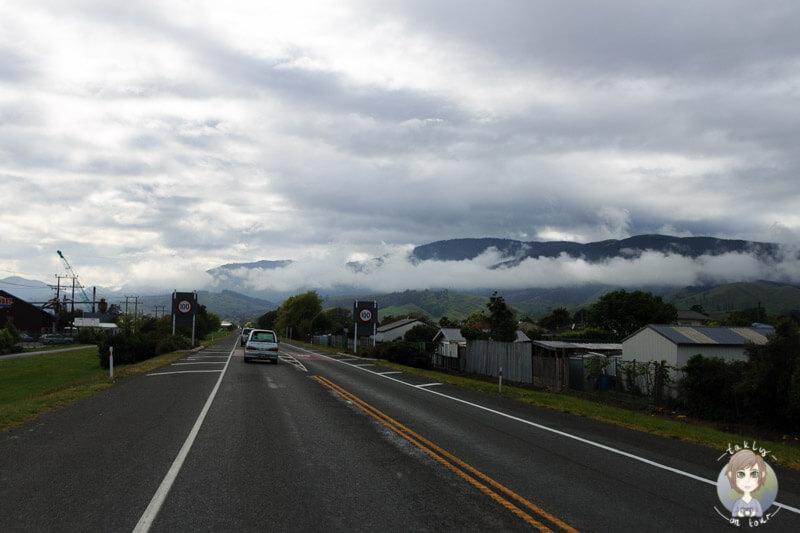 Fahrt nach Nelson, Tasman
