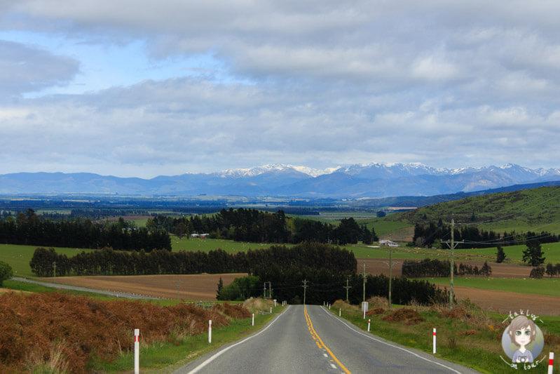 Fahrt Richtung Te Anau