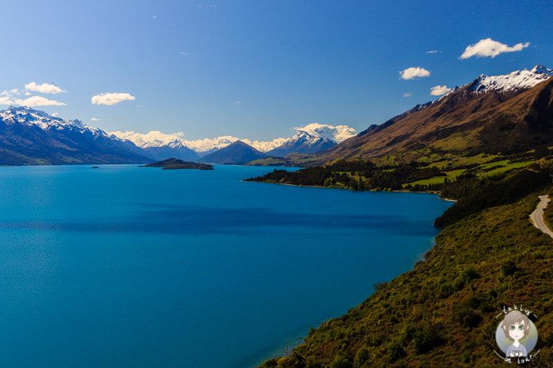 Aussichtapunkt am Lake Wakatipu