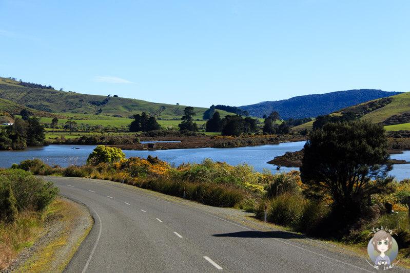 Fahrt durch Waikawa
