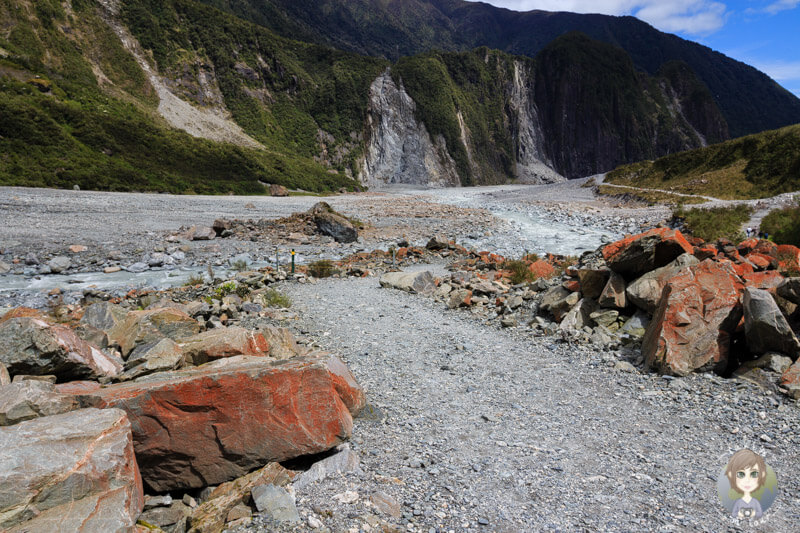 Wanderweg am Fox Glacier