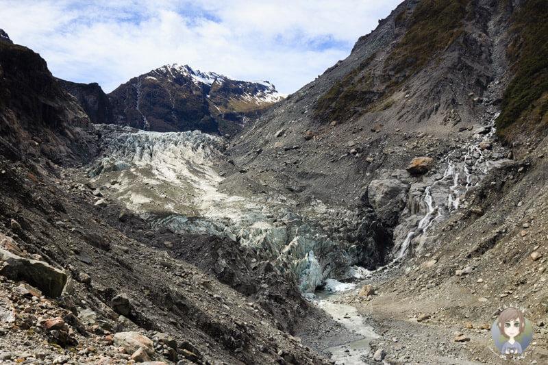 Wanderung am Fox Glacier, West Coast, Neuseeland (2)