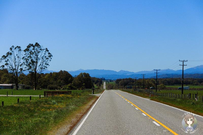 Fahrt Richtung Stillwater, West Coast