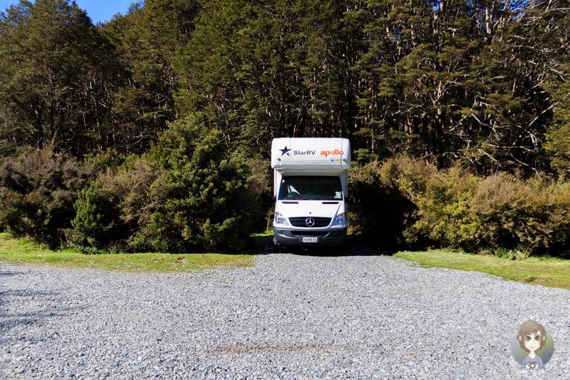 kostenlos übernachten im Deer Valley in Neuseeland (2)