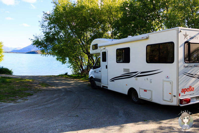 kostenlose Übernachtung am Lake Wakatipu (1)