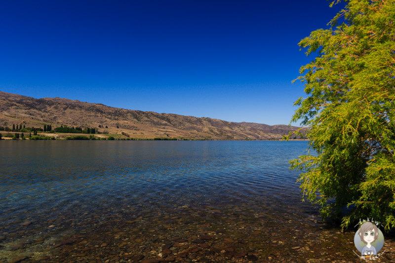 Lake Dunstan in Otago, Neuseeland