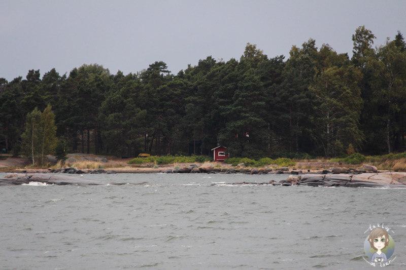 Auf dem Wasser vor Helsinki