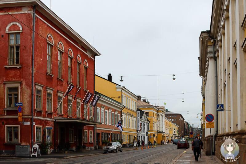 Auf dem Weg zum Senatsplatz in Helsinki