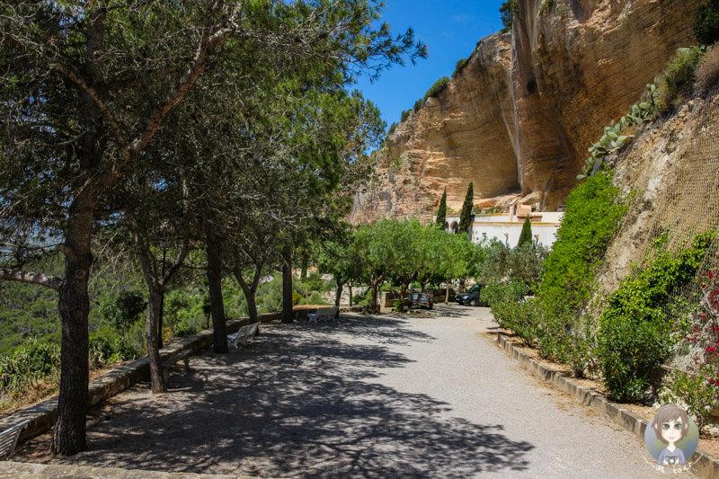 Spaziergang am Kloster Nostra Senyora de Gràcia auf Mallorca