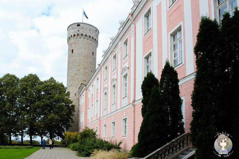 Das Schloss ist eine der sehenswerten Tallinn Sehenswürdigkeiten