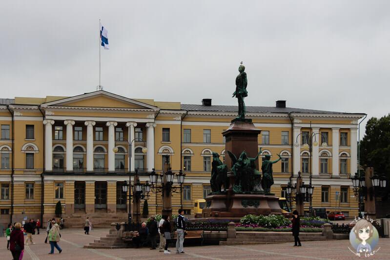 Das Senatsgebäude in Helsinki