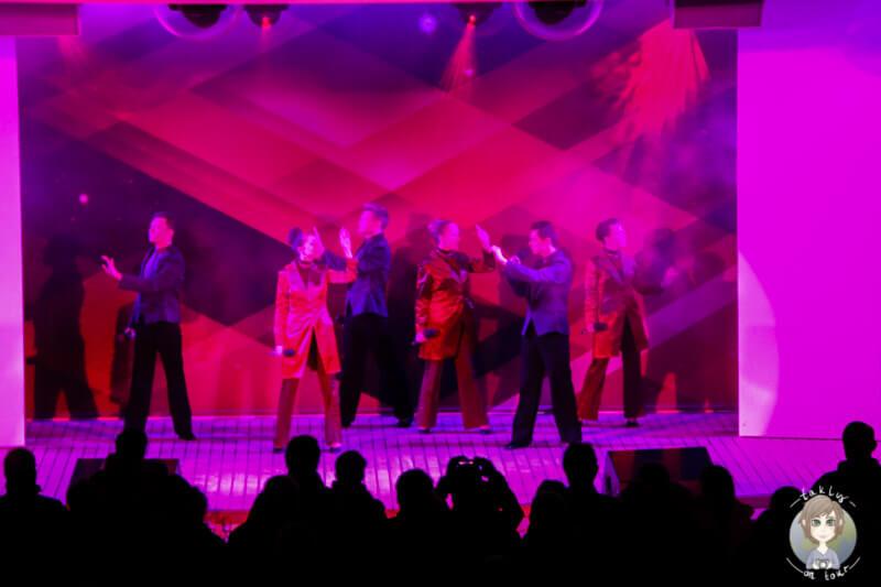 AIDA Show Ensamble bei der Abschiedsparty