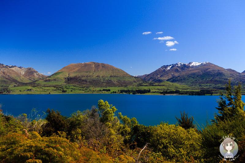 Eine tolle Kulisse am Lake Wakatipu auf unsere Neuseeland Reise mit dem Camper