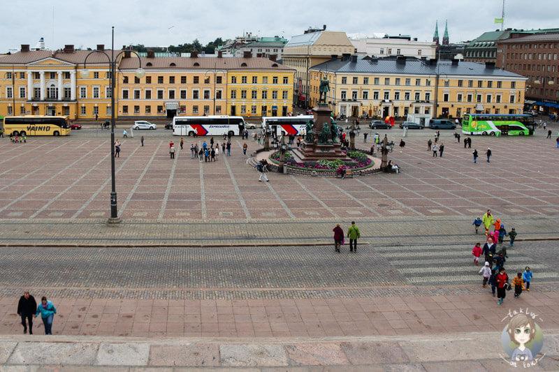 Der Senatsplatz in Helsinki