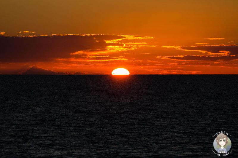 Sonnenuntergang Deutschland