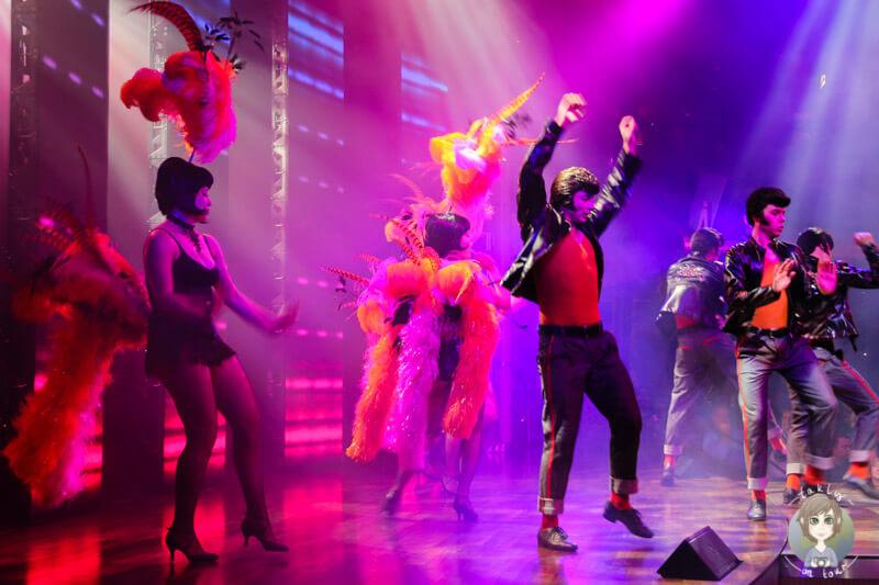 Elvis Show auf der AIDA