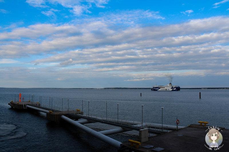 Die AIDA beim verlassen von Tallinn