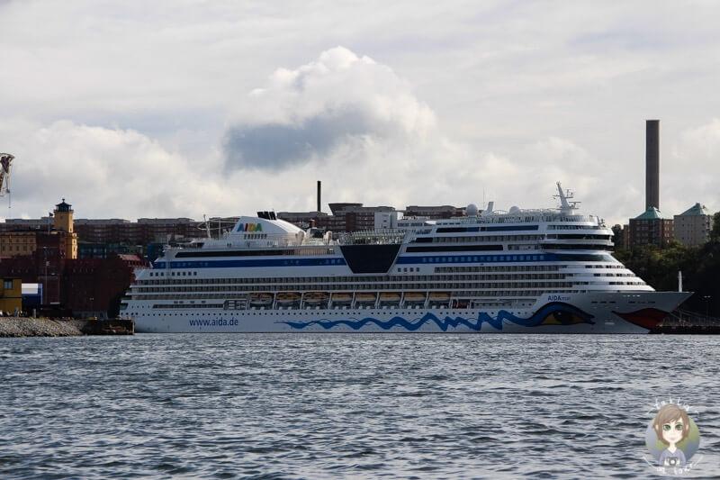 Die AIDA in Stockholm, Schweden