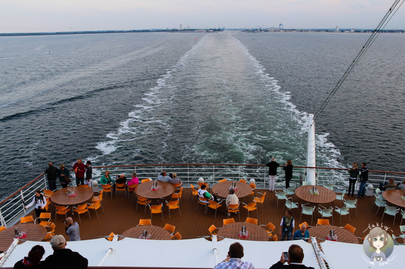 Die AIDA mar macht sich auf den Weg auf die Ostsee