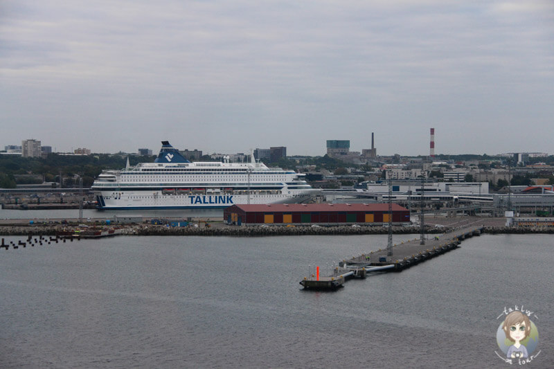 Der Hafen von Tallinn