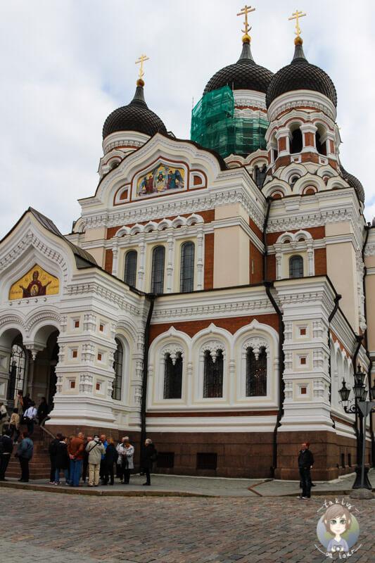 Die Alexander-Newsky-Kathedrale ist eine der schönsten Tallinn Sehenswürdigkeiten