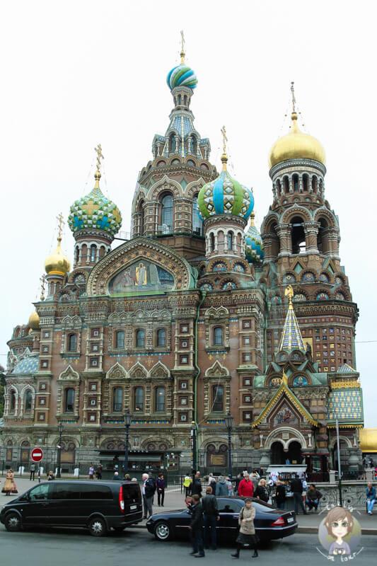 Die Blutkirche St. Petersburg