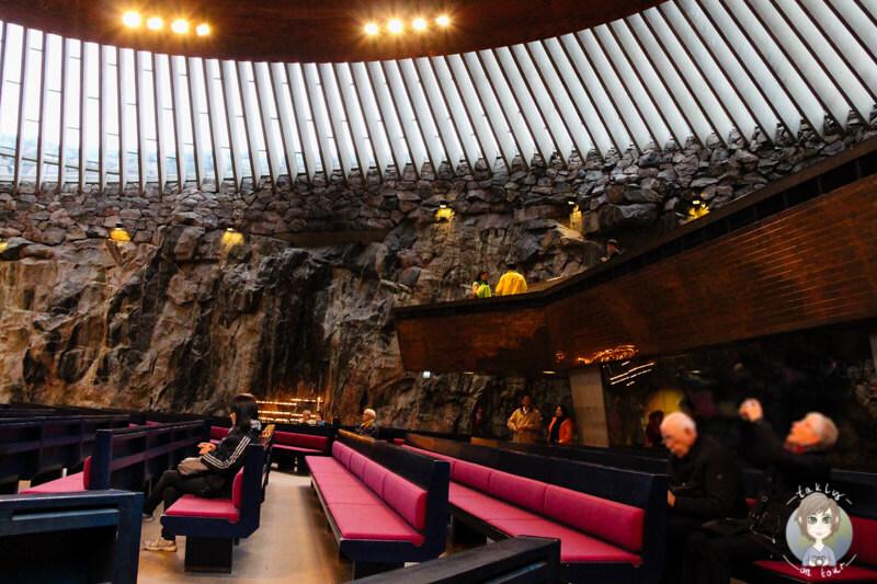 Die Felsenkirche Helsinki