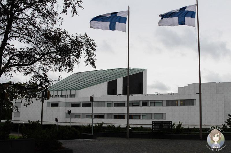 Die Finlandia Halle in Helsinki