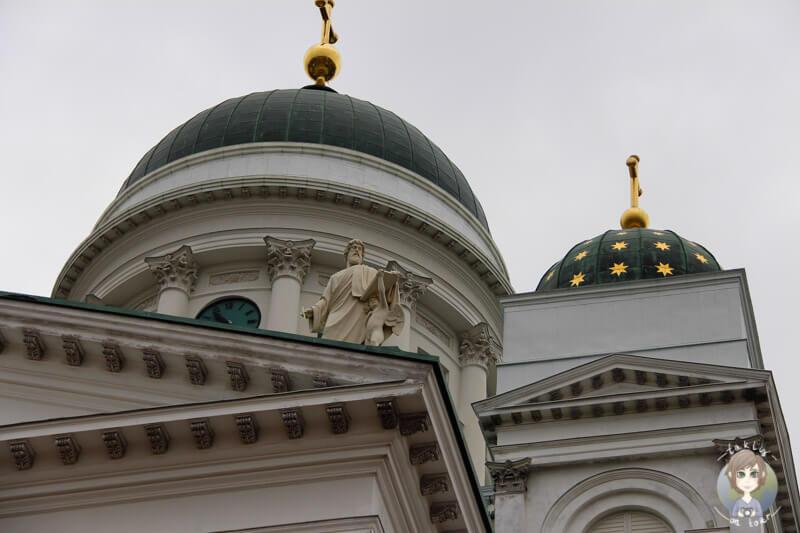 Die Kuppel vom Dom Helsinki