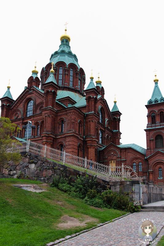 Die Uspenski-Kathedrale inn Helsinki