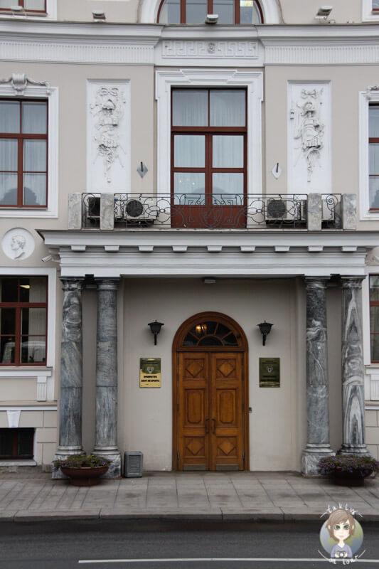 Hauseingang in St. Petersburg