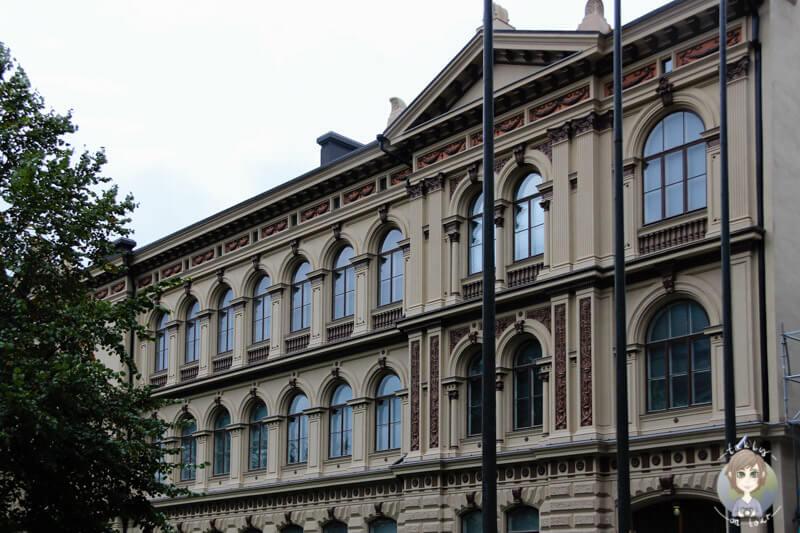 Ein schönes Gebäude in Helsinkis Innenstadt