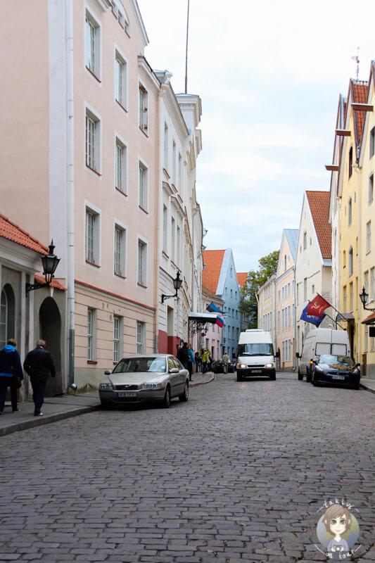 Eine Straßenzeile in Estland - Tallinn