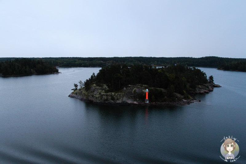 Eine kleines Insel vor Stockholm