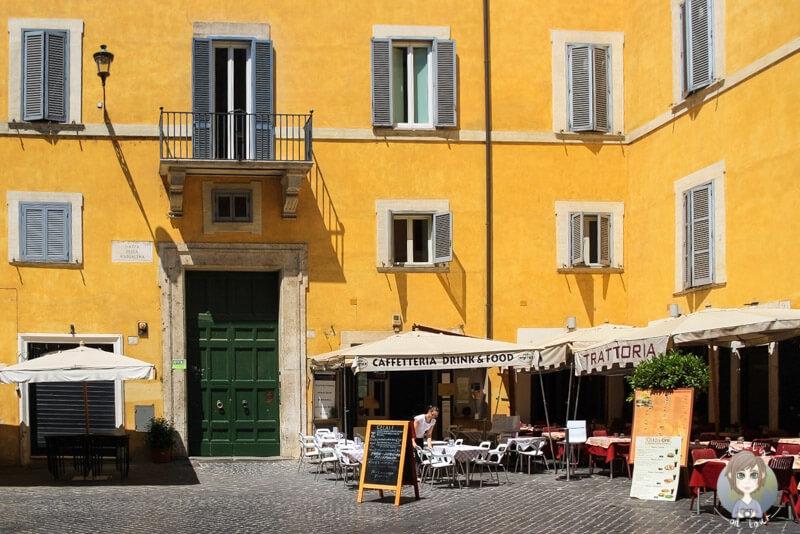 Ein schönes Restaurant in Rom - Essen und Trinken in Rom
