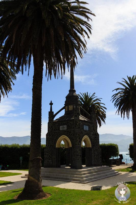 Fahrt durch Akaroa, Neuseeland (1)